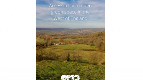 Mapping Accessibility to Green Space in the West of England